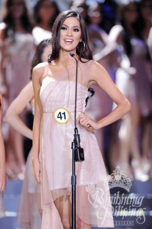 Cận cảnh nhan sắc quyến rũ của Hoa hậu Hoàn vũ Philippines 2013