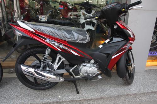 Suzuki Viva 115 Fi đã có mặt tại Hà Nội