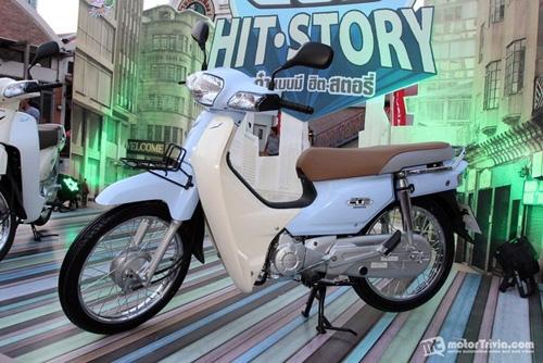 Honda Dream Super Cub 2013 chính thức ra mắt