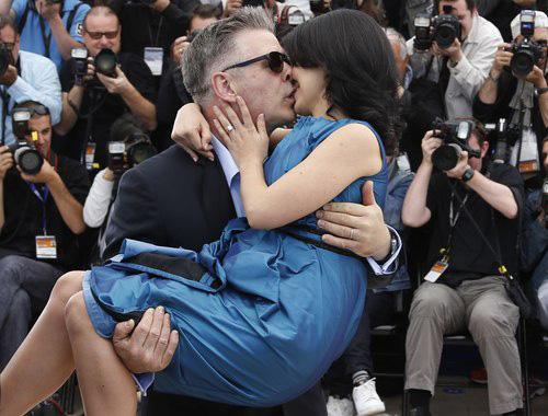 Những nụ hôn cháy bỏng tại Cannes 2013