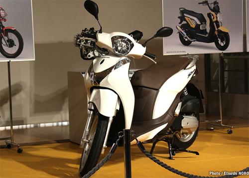 Cận cảnh Honda SH mode sắp ra mắt ở Việt Nam