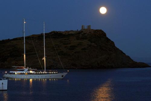 Ảnh 'siêu trăng' tuyệt đẹp trên khắp thế giới