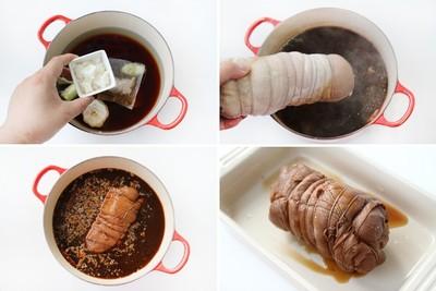 Chân giò hầm thơm nức cho bữa cơm gia đình