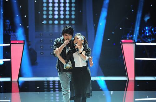 Tập 2 vòng Đối đầu The Voice Việt 2013: Thí sinh Sao Mai Điểm Hẹn đại thắng