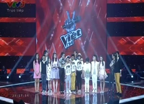 The Voice Kids Liveshow 3: Thí sinh chia tay trong nước mắt