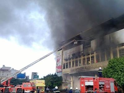 Tin mới nhất vụ cháy Trung tâm thương mại Hải Dương