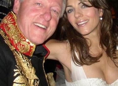 Hé lộ tình vụng trộm giữa tổng thống Bill Clinton và cô đào Elizabeth Hurley