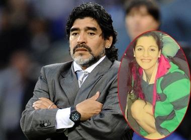 Sốc: Maradona bỏ rơi con gái bí ẩn suốt 18 năm trời