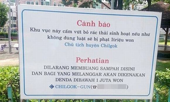 Hết Thái, Hàn đến Nhật rêu rao người Việt trộm cắp, ăn tham, xả rác bien canh bao nguoi viet o nuoc ngoai2