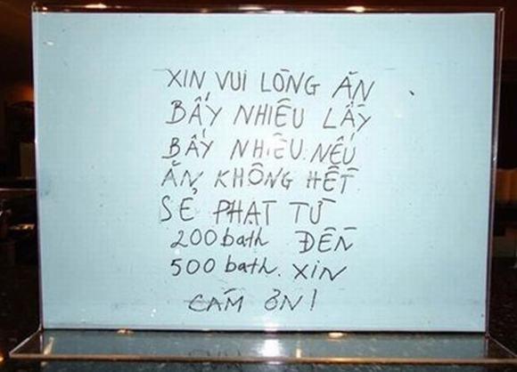 Hết Thái, Hàn đến Nhật rêu rao người Việt trộm cắp, ăn tham, xả rác bien canh bao nguoi viet o nuoc ngoai5