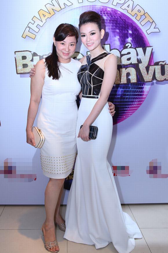 Thu Thuỷ, Ngân Khánh rạng rỡ trong tiệc mừng chiến thắng 'Nữ hoàng khiêu vũ 2014'