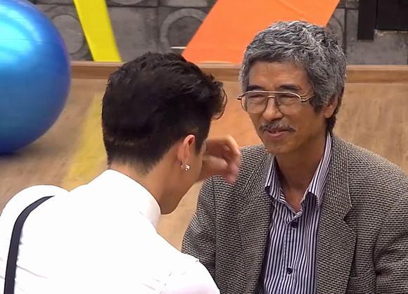 Học Viện Ngôi Sao: Huỳnh Anh xúc động khi bố đến thăm