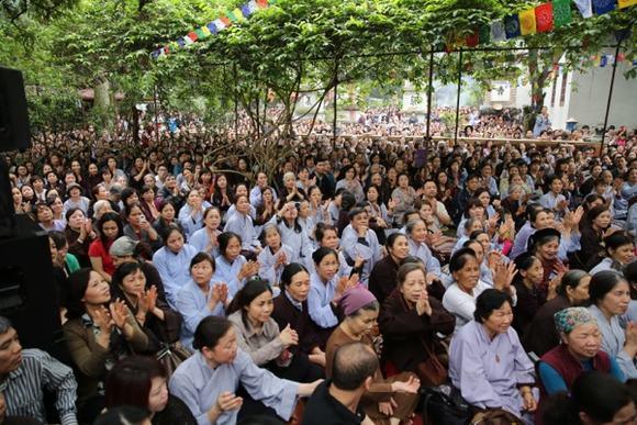 Đại lễ Đức Pháp vương Drukpa truyền Quán đỉnh Phật Dược Sư tại Hà Nội