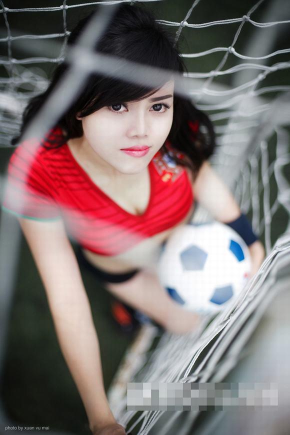 Cô nàng hot girl đến từ Nha Trang đã thực hiện bộ ảnh