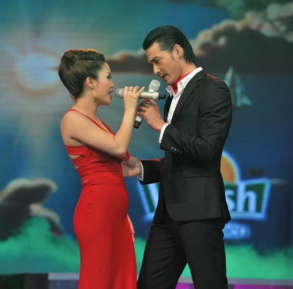 cap doi sao viet, cap doi nen duyen trong showbiz Viet, sao viet,Hoang Son va Thuy Vy,Dong Hung va Phuong Linh