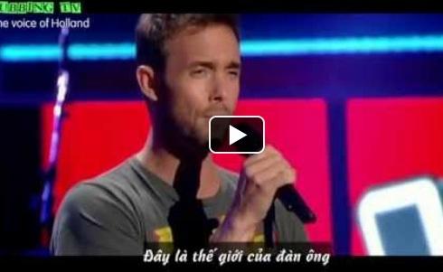 thi sinh vong giau mat cua The voice Ha Lan,The voice Ha Lan, giam khao The voice Ha Lan, The voice Ha Lan 2014