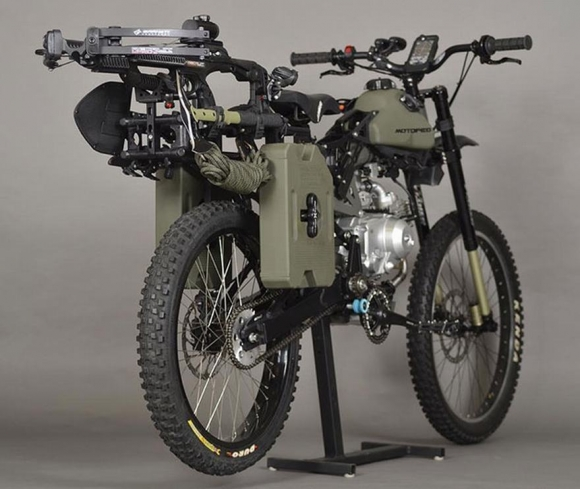 Một chiếc xe đạp có động cơ sẽ giúp bạn sống sót qua ngày tận thế Xe2