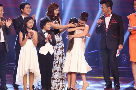 chung ket giong hat viet nhi 2014, the voice kids 2014, quan quan giong hat viet nhi 2014, giong hat viet nhi 2014, top 3 giong hat viet nhi, chung ket the voice kids 2014,hoang anh giong hat viet nhi