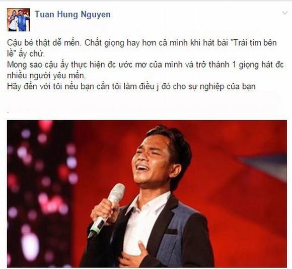 Tuan Hung, ban sao cua tuan hung, thi sinh Vietnam's Got Talent 2014, Vietnam's Got Talent 2014,