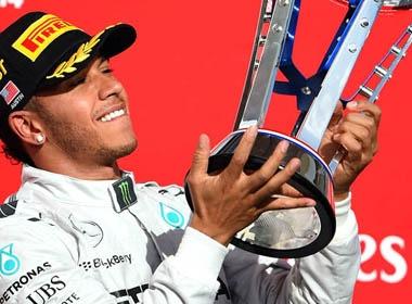 F1 chặng 17 - GP Mỹ: Hamilton cận kề chiến thắng