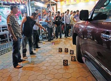 Đại gia Campuchia bị bắn chết cạnh xe Lexus