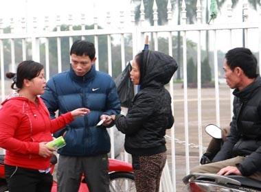 Cảnh sát giữ 5 phe vé trận Việt Nam - Malaysia