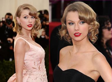 Ngắm Taylor trung thành với kiểu tóc bob trong năm 2014