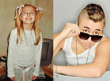 Cô gái phẫu thuật chuyển giới giống Justin Bieber