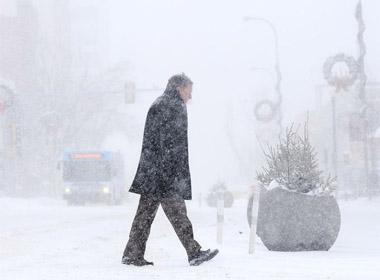 Nước Mỹ đang hứng chịu đợt lạnh giá kỷ lục nhất trong 15 năm qua