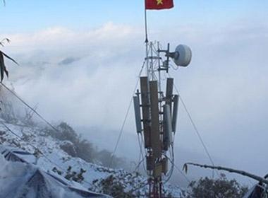 Nhà mạng Việt Nam đầu tiên phủ sóng đỉnh Fansipan
