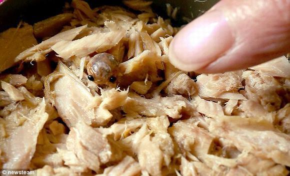'Sởn da gà' trước những 'vật thể lạ' xuất hiện trong thức ăn