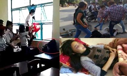 Nữ sinh bị đánh hội đồng - Thói hung hãn lên ngôi trong học đường