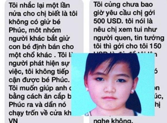 Xác bé gái nghi mất nội tạng Tiết lộ sốc từ người tống tiền