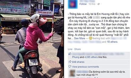 Nhân viên đi phát voucher bị chụp ảnh vu oan là nữ quái Hương 'mắt lồi'