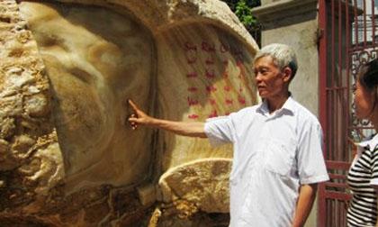 Tảng đá hoạ hình Tổ quốc 7 tỷ không bán, nguyện hiến cho Nhà nước