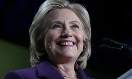 Hillary Clinton chính thức ứng cử tổng thống Mỹ