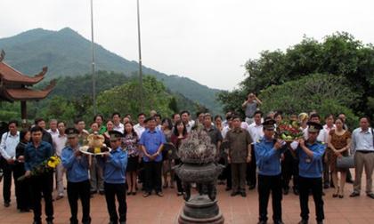 Hàng trăm nhà báo hành hương về di tích thành lập Hội Nhà báo Việt Nam