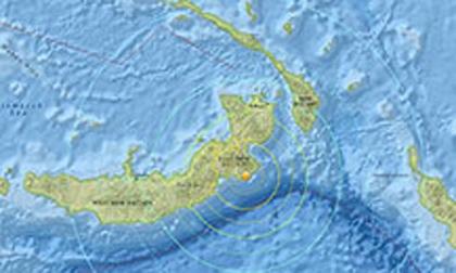 Papua New Guinea động đất 7,4 độ richter, cảnh báo sóng thần