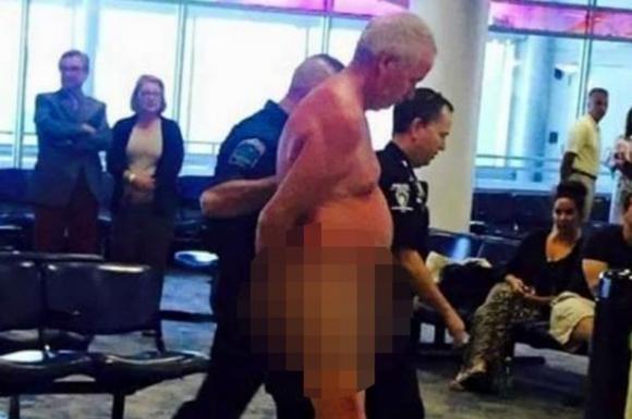 Tức giận vì lỡ chuyến, người đàn ông *** tại sân bay