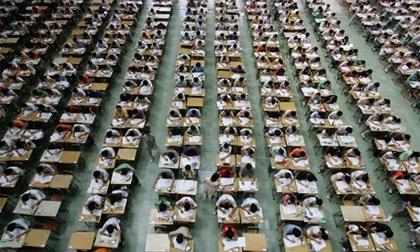 Trung Quốc cho máy bay không người lái gác thi đại học