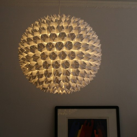 Trang trí nhà với đèn tự làm từ vật tái chế 1
