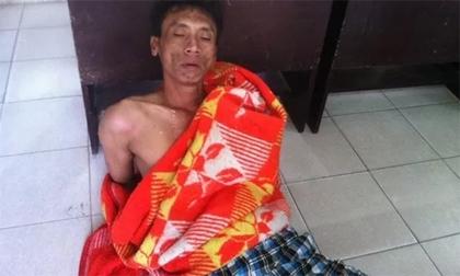 Nam thanh niên nghi ngáo đá dọa đốt xe taxi