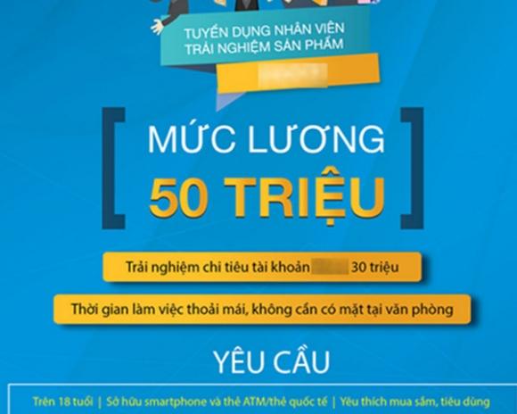 Doanh nghiệp Việt trả lương 50 triệu phụ cấp 30 triệu/tháng