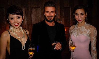 Hồ Ngọc Hà, Tóc Tiên sang Thượng Hải tái ngộ David Beckham