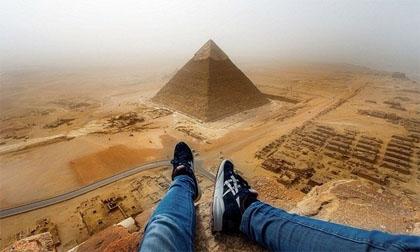Chấp nhận đi tù 3 năm để được trèo kim tự tháp Ai Cập