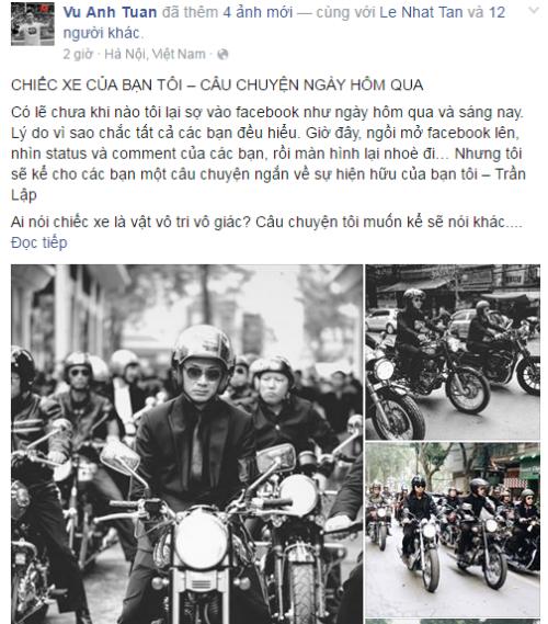 MC Anh Tuấn nghẹn ngào kể câu chuyện kì diệu xảy ra trong lễ tang Trần Lập - Ảnh 1