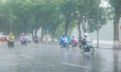 Dự báo thời tiết 19-4: Bắc Bộ có mưa dông vào chiều tối