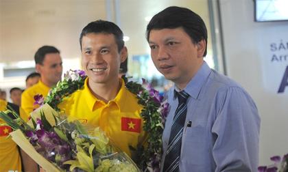 Futsal Việt Nam được thưởng 1,5 tỷ đồng khi về nước