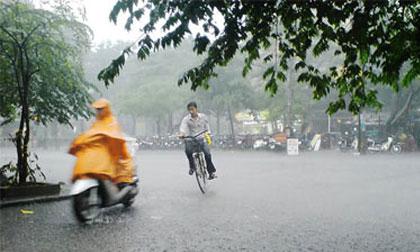 Dự báo thời tiết 28/9: Bắc bộ có mưa rào và dông vài nơi