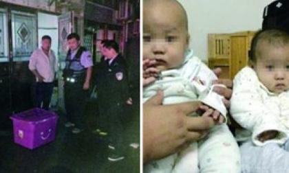 Bức xúc bố mẹ cãi nhau, bỏ rơi cặp song sinh 6 tháng tuổi ngoài đường trong cơn mưa tầm tã